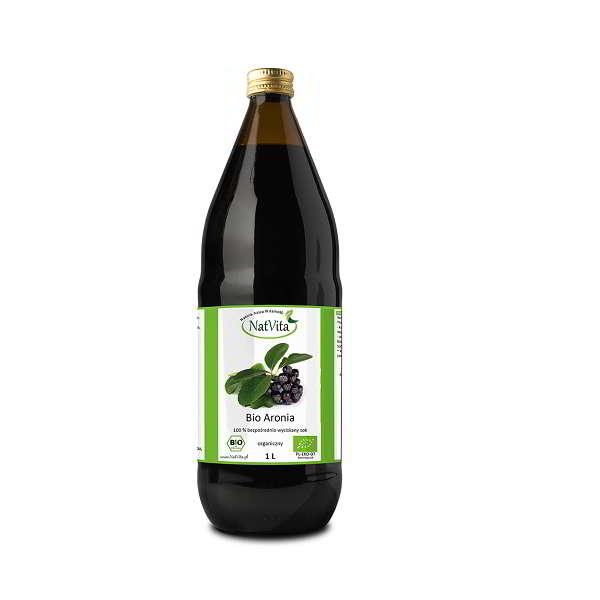 Bio Aronia sok w butelce