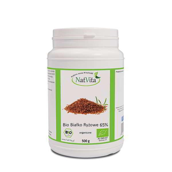 Bio Białko ryżowe 65