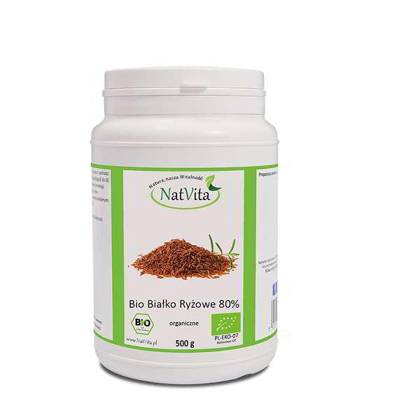 Bio Białko ryżowe 80 - opakowanie