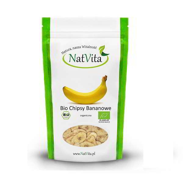 Bio Chipsy Bananowe - opakowanie