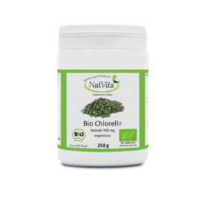 Bio Chlorella tabletki 500mg - pojemnik