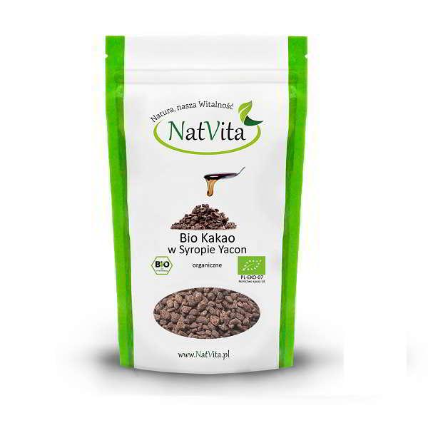 Bio Kakao w syropie Yacon - opakowanie