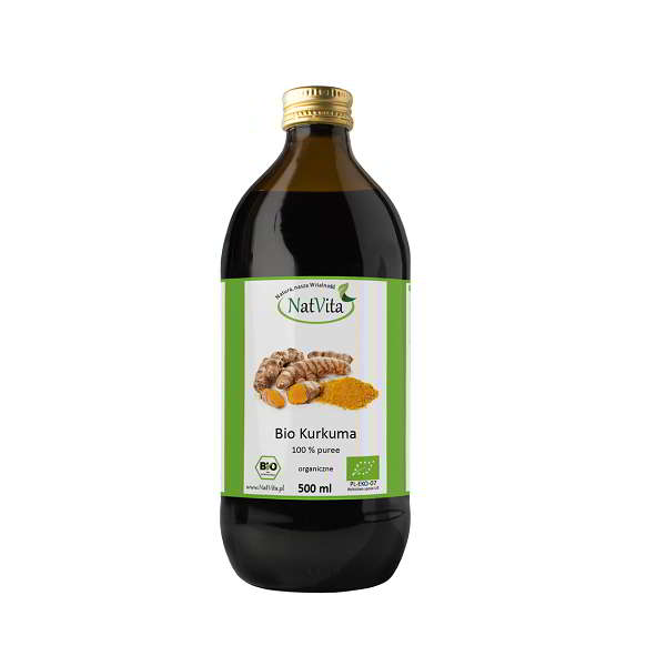 Bio Kurkuma puree - butelka