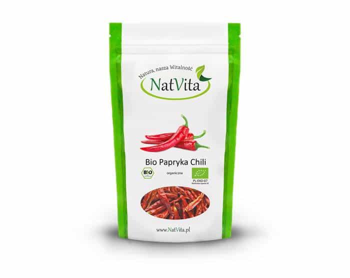 Bio Papryka Chili - opakowanie