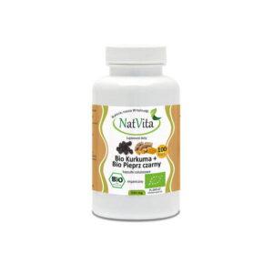 Bio kurkuma z pieprzem - kapsułki