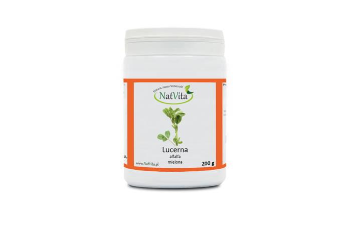 Lucerna mielona - pojemnik