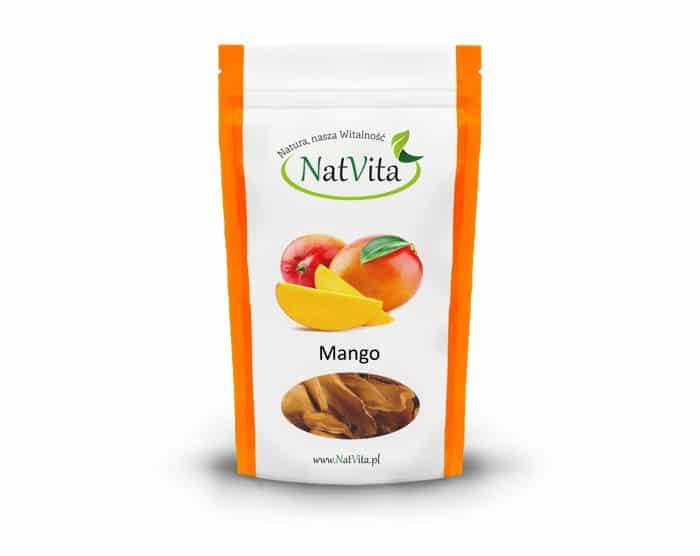 Suszone owoce mango - opakowanie