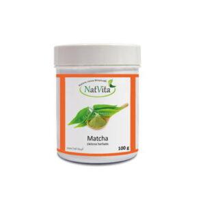 matcha herbata - pojemnik