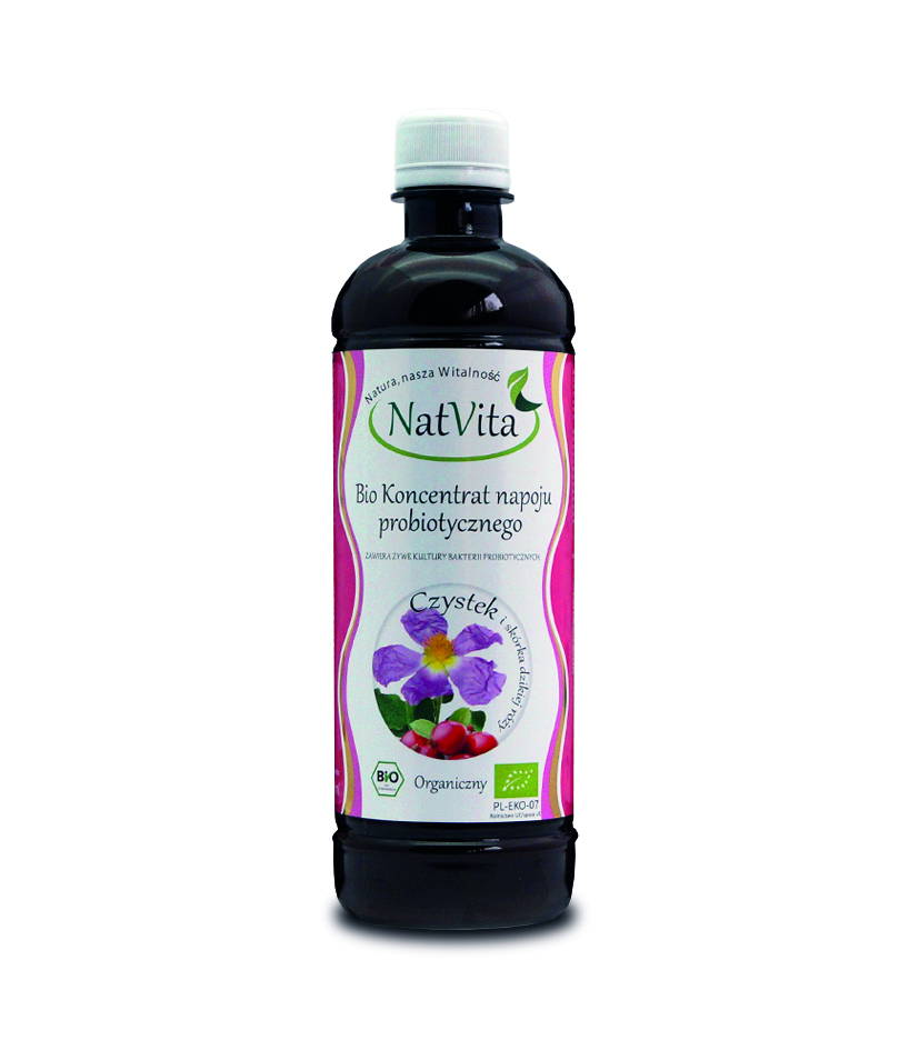 Probiotyk czystek - butelka