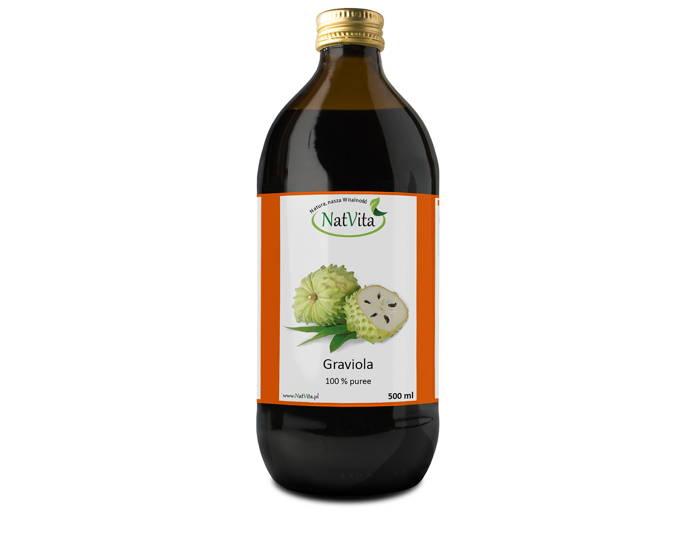 Sok Graviola - butelka