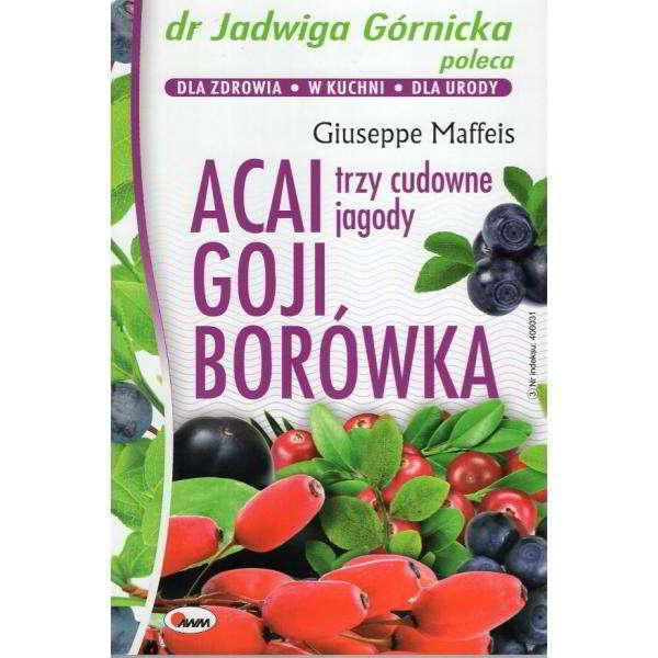 acai goji borówka - książka