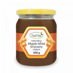 Ałtański miód gryczany z Syberii