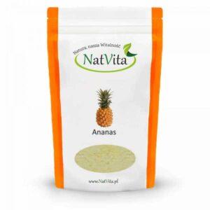 Ananas liofilizowany mielony