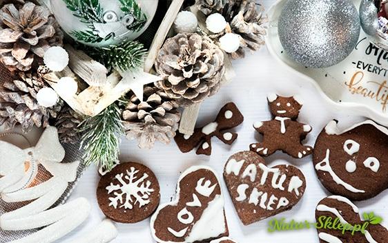 pyszne i zdrowe ciasteczka orkiszowe, idealne na święta