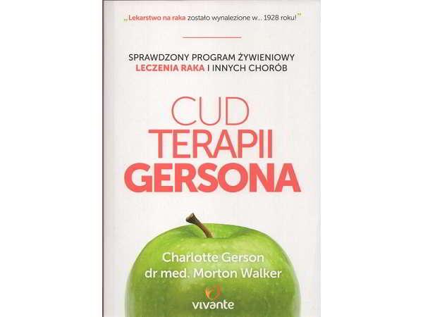 cud terapii gersona - książka