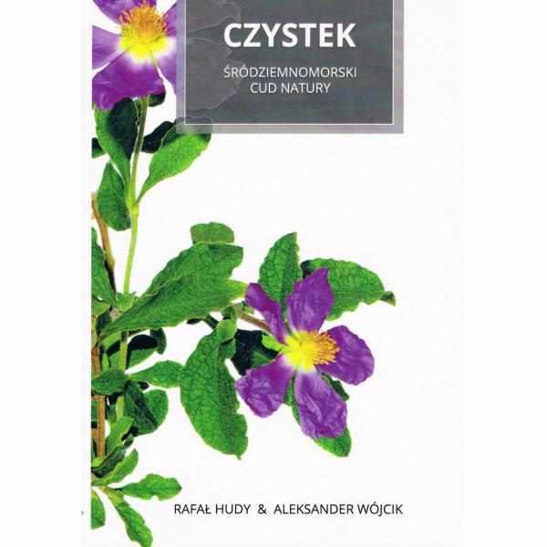 czystek srodziemnomorski cud natury - książka