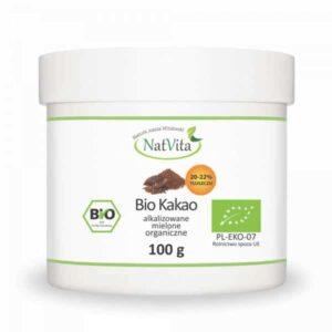 Mielone kakao z zawartością 22% tłuszczu
