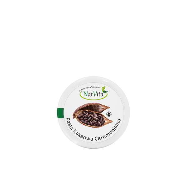 kakao ceremonialne pasta - opakowanie