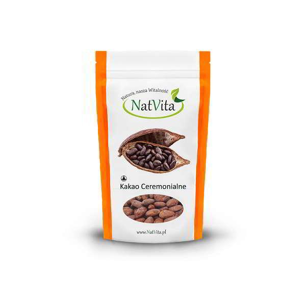 kakao criollo raw ceremonialne - opakowanie