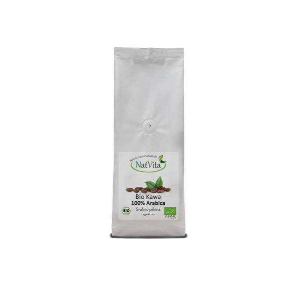 kawa bio arabika mielona - opakowanie
