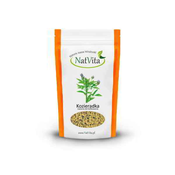 kozieradka nasiona do kiełkowania - opakowanie