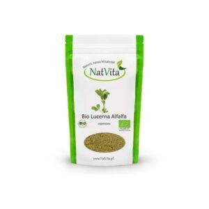 lucerna alfalfa mielona bio - opakowanie