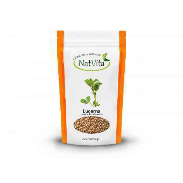 Lucerna nasiona do kiełkowania - opakowanie