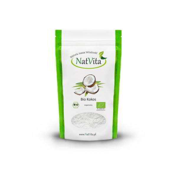 mąka kokosowa bio - opakowanie