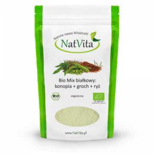 mix białkowy vege bio