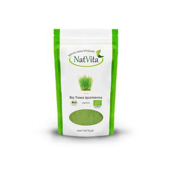 green barley plus strona producenta