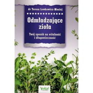odmladzajace ziola - książka