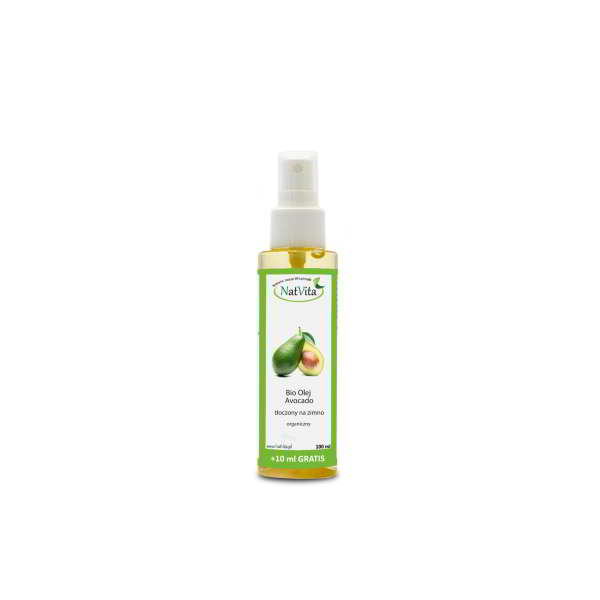 olej avocado bio - butelka