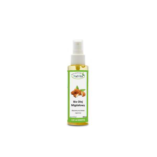olej migdałowy bio - butelka
