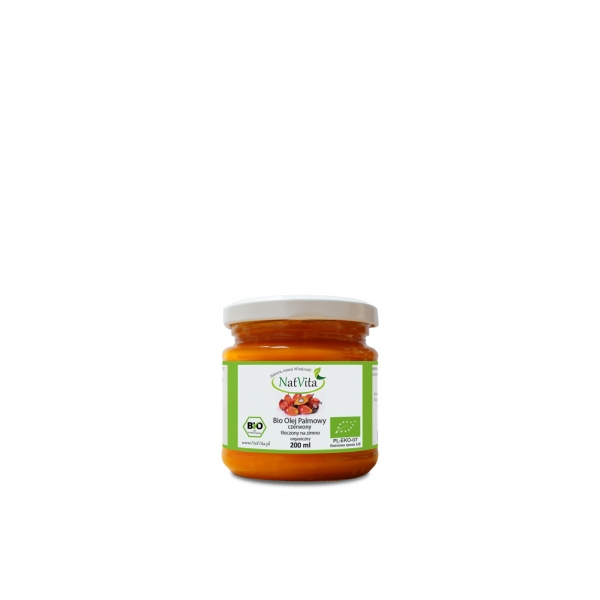 olej palmowy czerwony bio