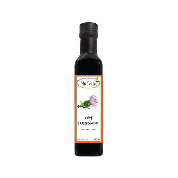 olej z ostropestu zimnotloczony - butelka