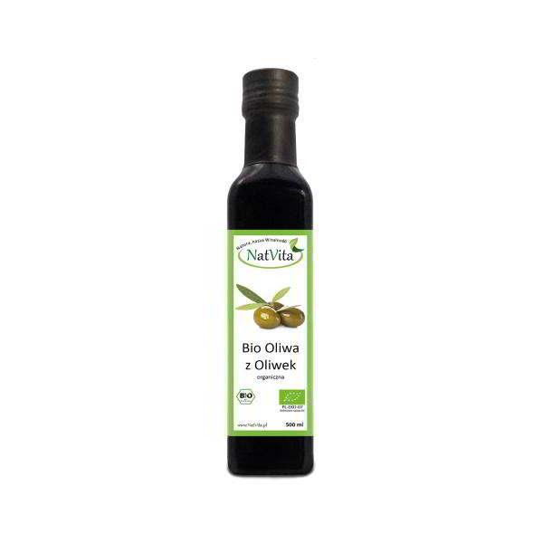 oliwa bio z oliwek - butelka