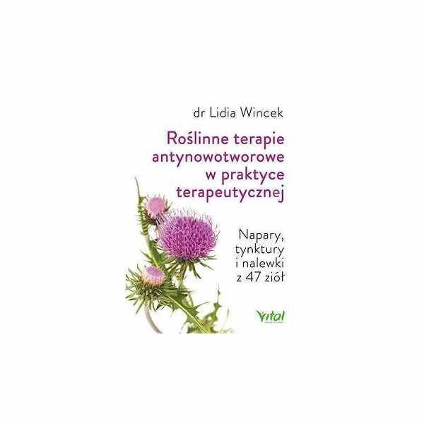roślinne terapie antynowotworowe - książka