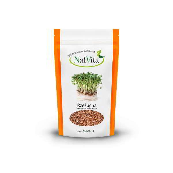 rzeżucha nasiona do kiełkowania - opakowanie