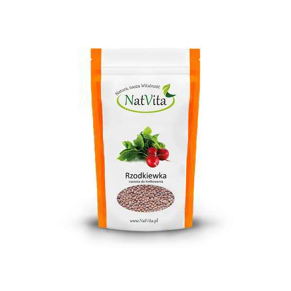 rzodkiewka nasiona do kielkowania - opakowanie