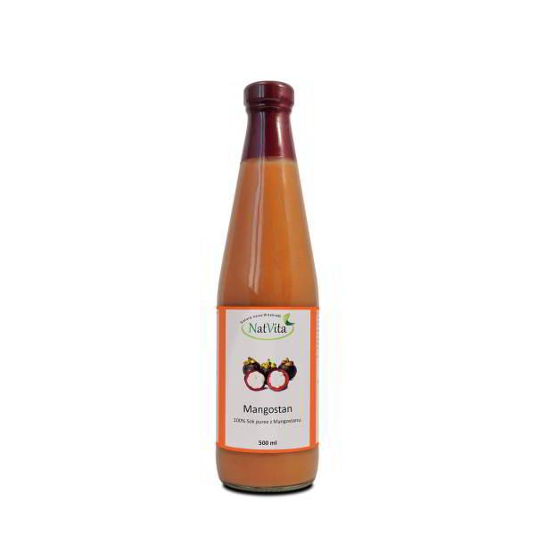 sok mangostan - butelka