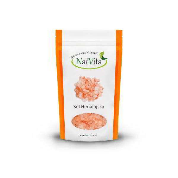 sol himalajska drobna rozowa - opakowanie