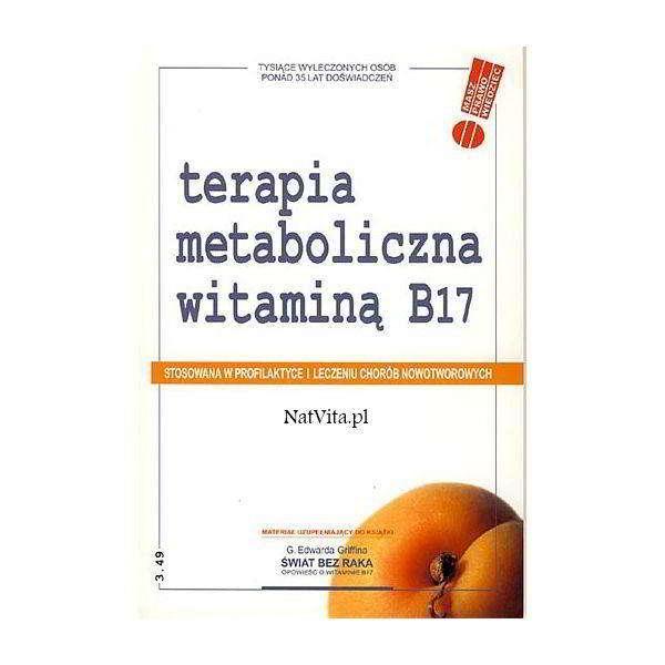 terapia metaboliczna witamina b17 - książka