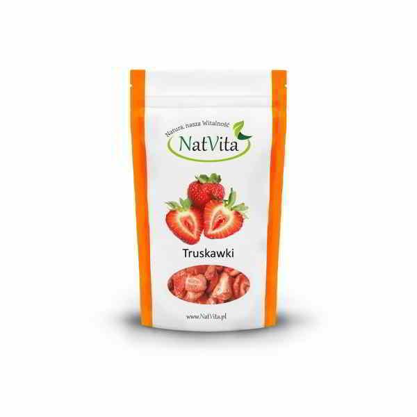 Opakowanie - truskawki liofilizowane