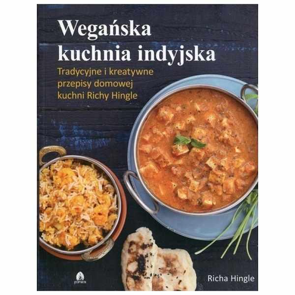 wegańska kuchnia indyjska - książka