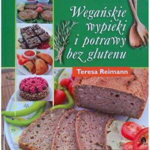 weganskie wypieki i potrawy bez glutenu - książka