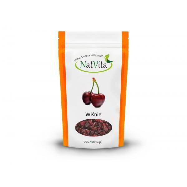 Wiśnie - owoce suszone - opakowanie